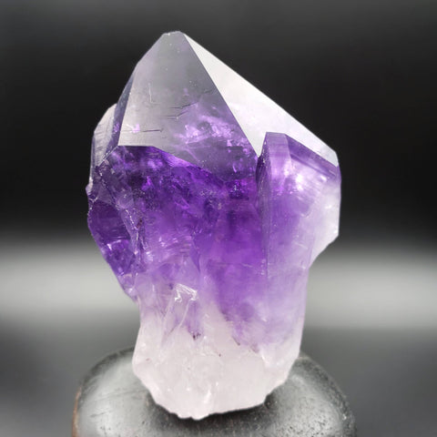 Amethyst Point with Rainbow Inclusions