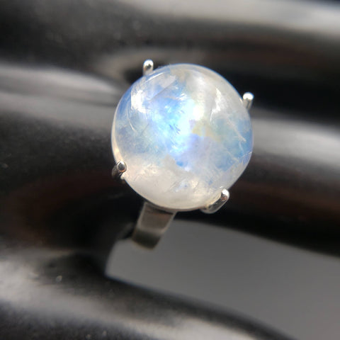Moonstone Lunar Love Ring Size 7.5