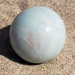 Andean Blue Opal Sphere - Jupiter Planet Crystal Ball