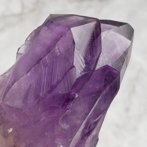 Amethyst Standing Twin Point