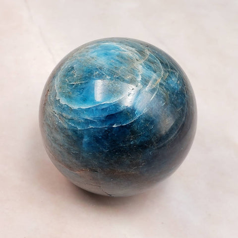 Teal Apatite Sphere Crystal Ball