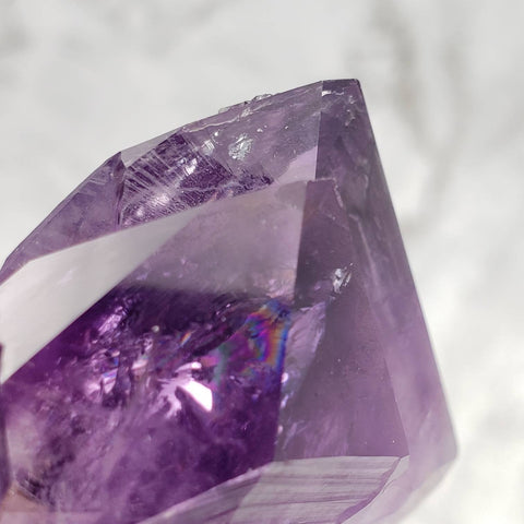Amethyst Twinned Point