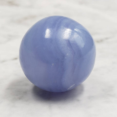 Blue Lace Agate Crystal Ball Sphere 22mm