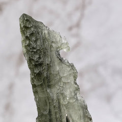 Genuine Moldavite - Laughing Face Formation
