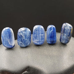 Blue Gem Kyanite Flat Polished Crystal