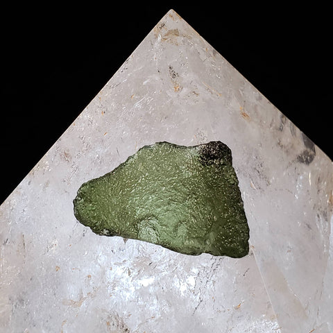 Genuine Moldavite - Ox Taurus Cow Shape