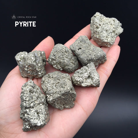 Raw Pyrite Nugget Crystal Chunk