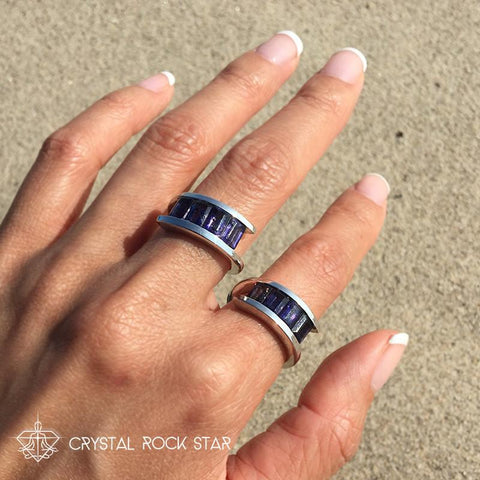 Iolite Ring - Size 6