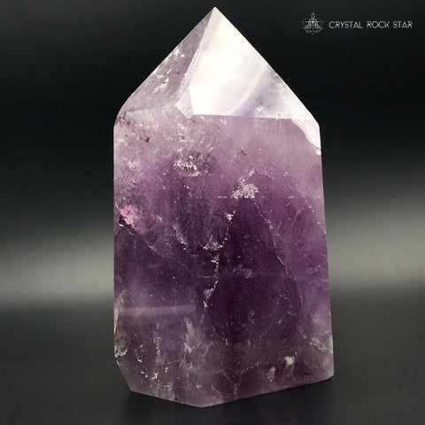 Large Amethyst Point 6.7""