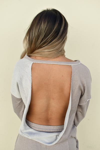 Never Look Back Sweater Top