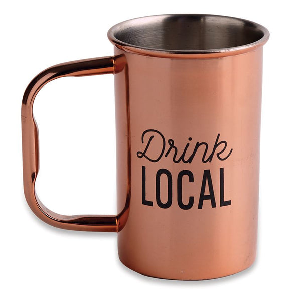 Drink Local Copper Cup
