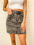 Black At It Skirt