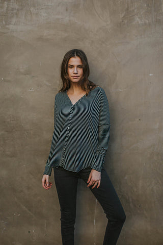 Between The Lines Cardigan Top