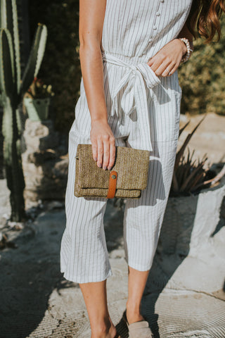 Sunday Stroll Taupe Bag