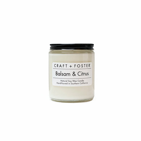 Balsam & Citrus 8oz Soy Candle