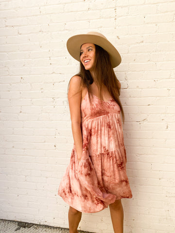 Pink Sunset Dress