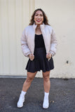 Marshmallow Bomber Jacket
