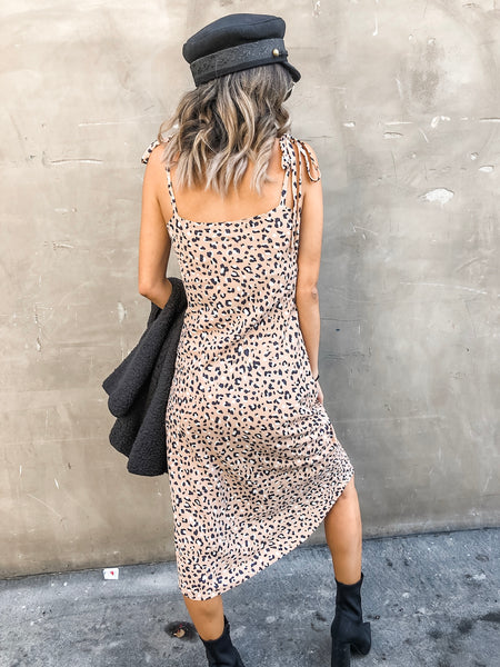 Take A Ride Midi Dress