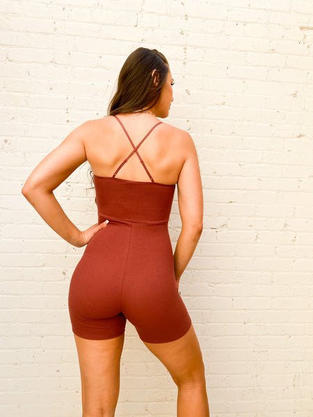 Short Ride Romper