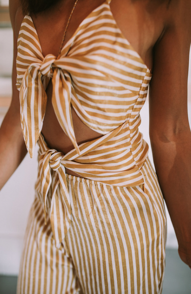 Stripe A Pose Jumpsuit