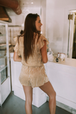 Button up Buttercup Romper