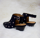 I'll Stud By You Backless Mule