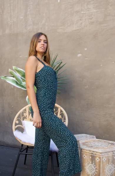 Give It All You Dot Jumpsuit
