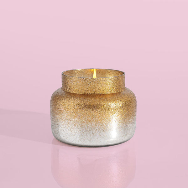 Crystal Pine Silver Glittered Ombre Signature Candle