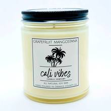 Grapefruit Mangostana- Cali Vibes Natural Soy Wax Candle