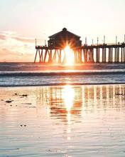 Huntington Beach- Cali Vibes Natural Soy Wax Candle
