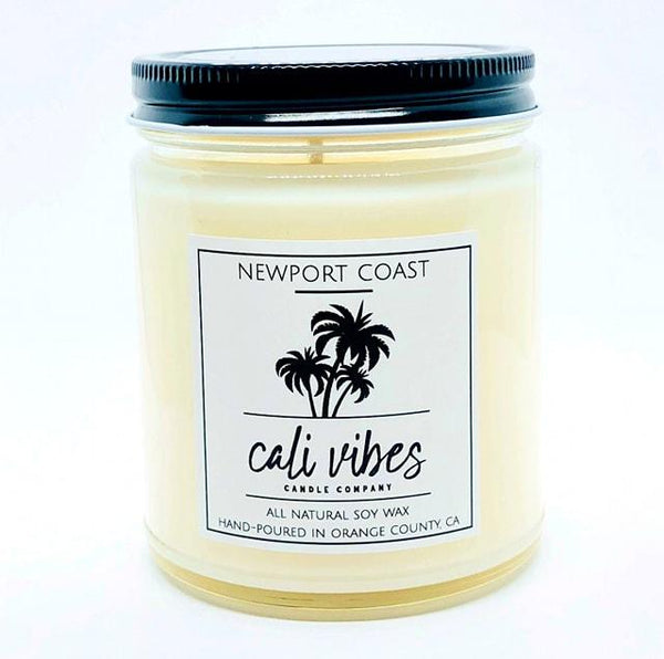 Newport Coast- Cali Vibes Natural Soy Wax Candle