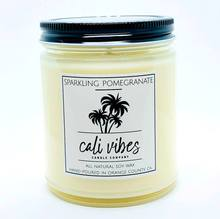 Sparkling Pomegranate- Cali Vibes Natural Soy Wax Candle