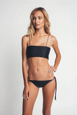 Brigitte Black Top - KAOHS Swim