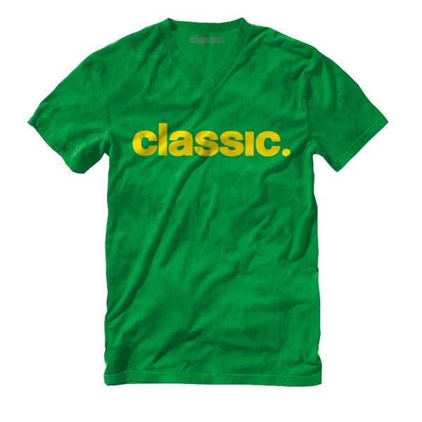 gold on green unisex