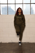 Load image into Gallery viewer, *Limited Edition* Army Green Joggers Suit
