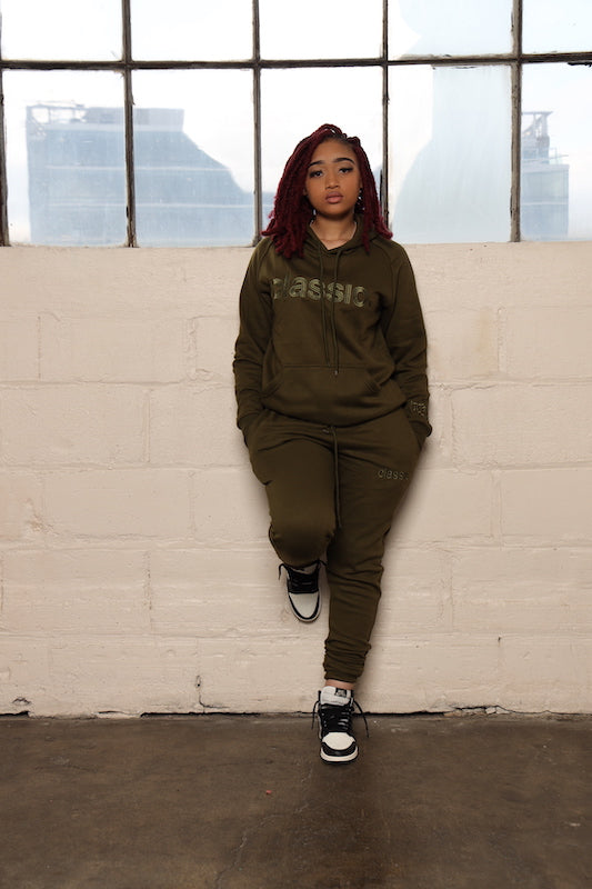 *Limited Edition* Army Green Joggers Suit