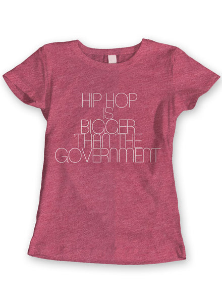 Hip Hop is bigger...