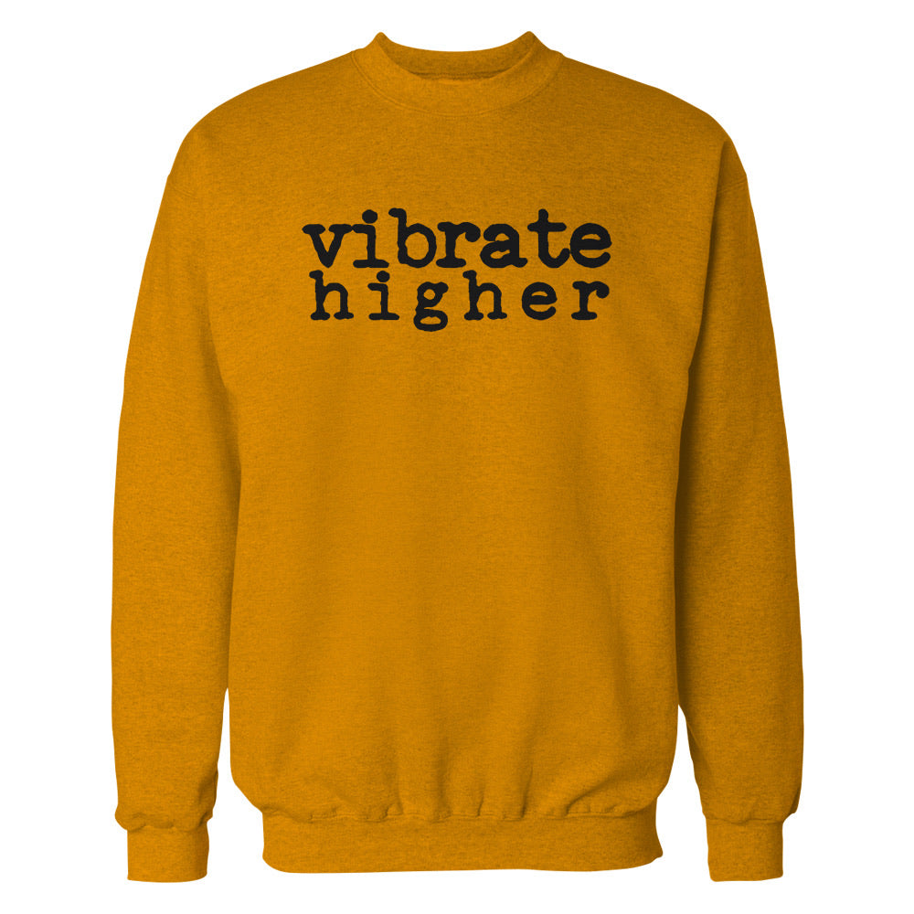 Vibrate Higher crewneck (Gold)