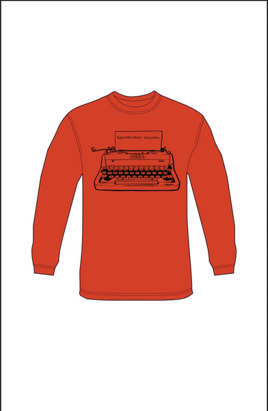 Typewriter Sniper (red)