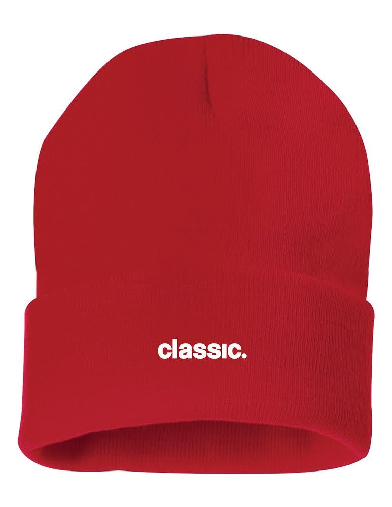 classic. Beanie (red)