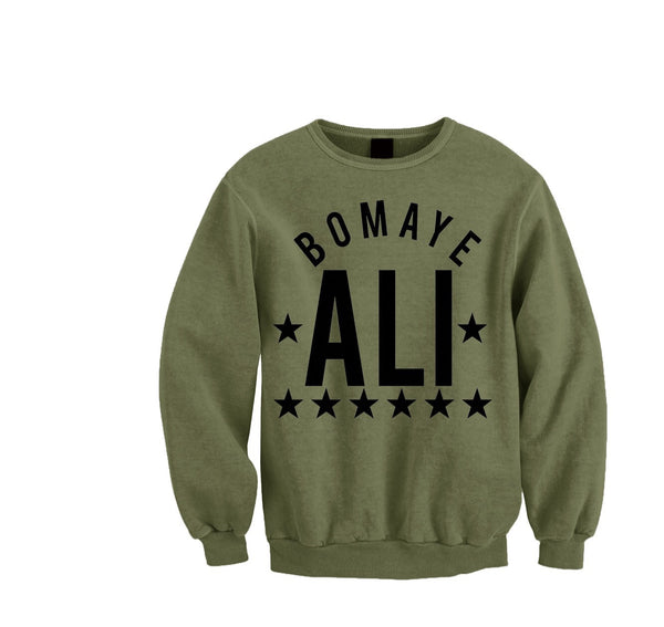 The Champ crewneck (military green)