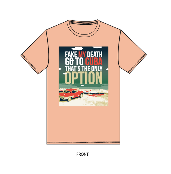 The Option unisex (peach)