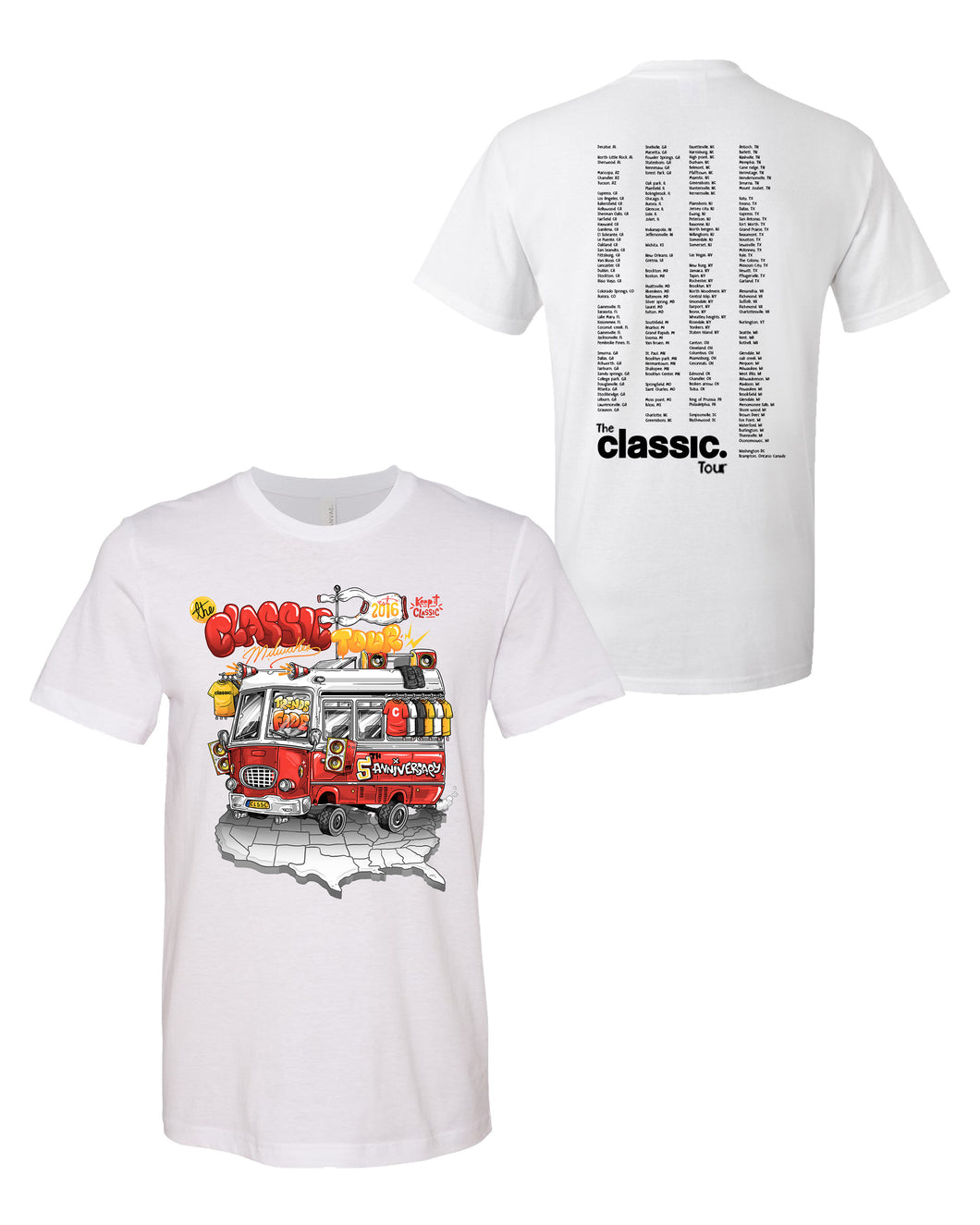 *New Arrival* The Classic Tour (white)