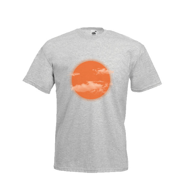 Orange Moon (Grey)