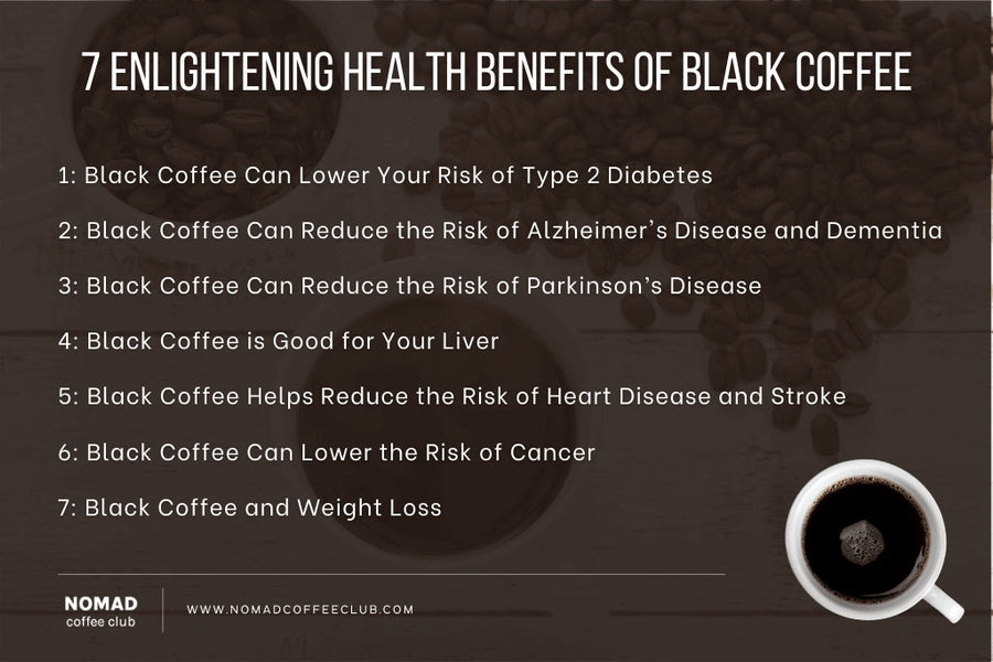 7 Enlightening Health Benefits Of Black Coffee