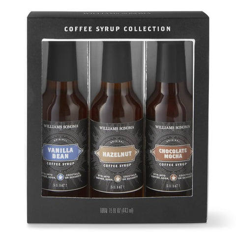 William Sonoma Coffee Syrup Gift Set