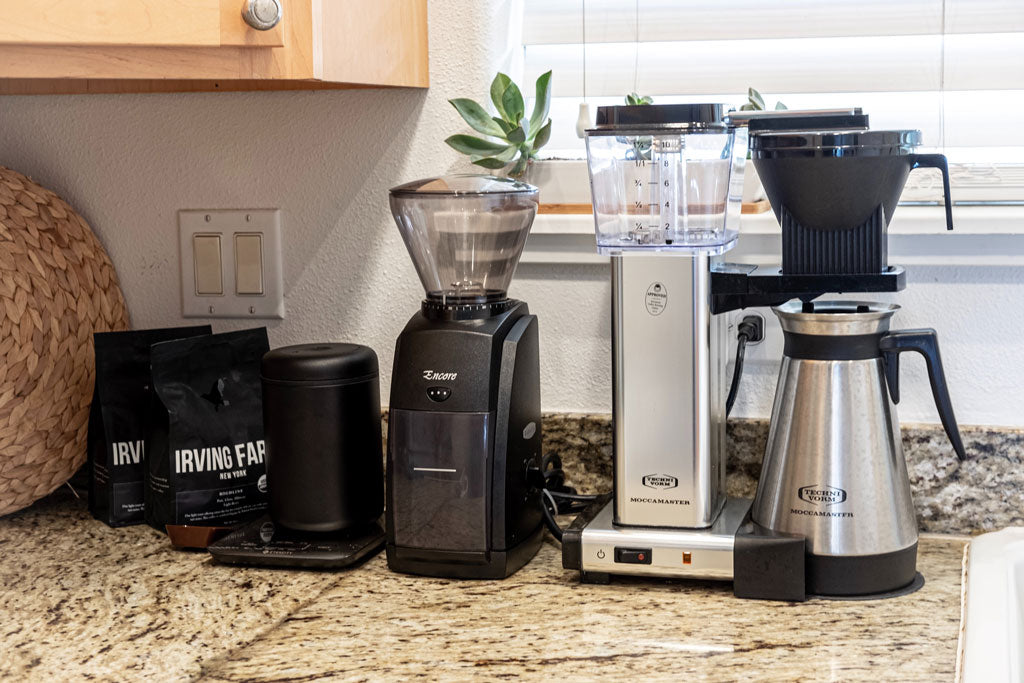 A Reluctant Coffee Snobs At Home Set Up