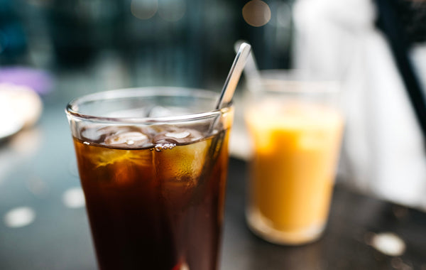 Ice cold brew coffee