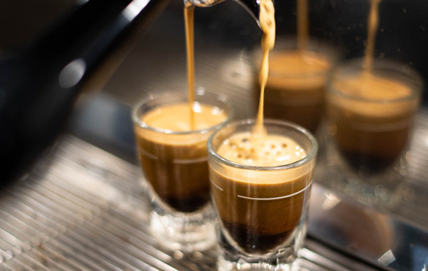 shots of espresso, difference between coffee and espresso