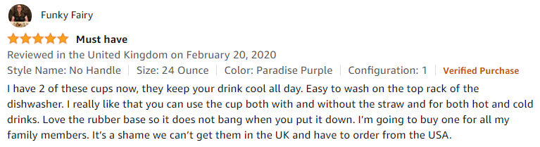 Funky Fairy customer review